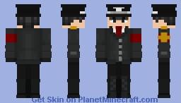 PMM #20: European Republic S.S. Officer Boy Minecraft Skin