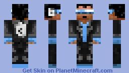 Michal Jackson/ singer! Minecraft Skin