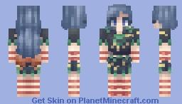 Momoyo Himemushi / 姫虫 百々世   Touhou [東方] Project Minecraft Skin