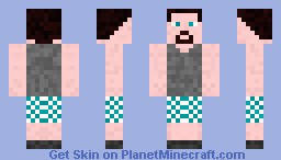exersice steve Minecraft Skin