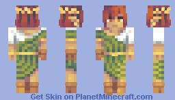 Olive The Elven Goddess, , Ezio Remix Skin Minecraft Skin