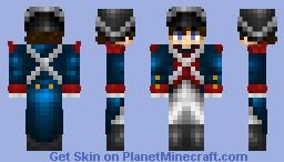 French revolutionary soldier Minecraft Skin