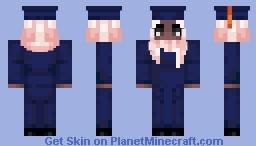 [UConn Minecraft Graduation] Female - Skin Tone 4, Hijab, SOE Minecraft Skin