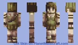 Princess of the Woods - Huevember #11 Minecraft Skin