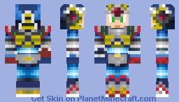 Second Armor X Minecraft Skin