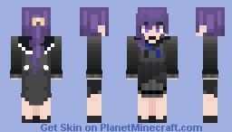 Mafuyu Asahina Minecraft Skin