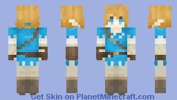 Link | BotW Minecraft Skin