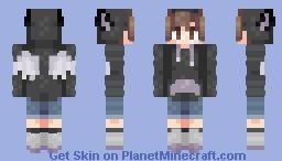 𝒞𝓁𝑒𝒶𝓇 𝓉𝒽𝑒 𝓌𝒶𝓎 :- 𝔊𝔦𝔰𝔢𝔦 Minecraft Skin
