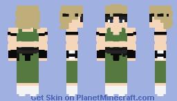 MK1 - Sonya Blade Minecraft Skin