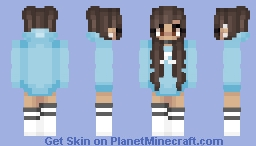 astelic - blue Minecraft Skin