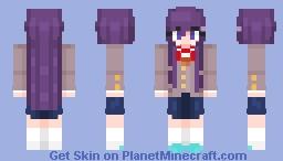 Yuri [Doki Dok Literature Club] (4/5 Skins) Minecraft Skin