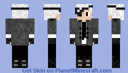 devil hunter based from chainsaw man Minecraft Skin