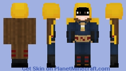Dc's Hourman Minecraft Skin