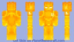 Flame On! Minecraft Skin