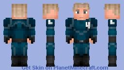 Human Torch Minecraft Skin
