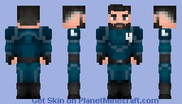 Mr Fantastic Minecraft Skin