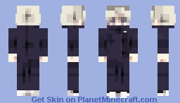 Jujutsu Kaisen | Inumaki Toge (Full Uniform Hiding His Mouth) Minecraft Skin