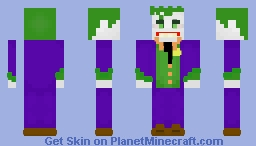 The Joker | DC Comics Minecraft Skin