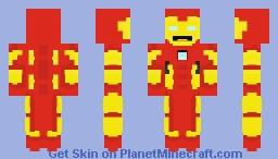 Avengers Customs #3 - Iron Man Minecraft Skin