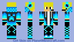 YT Pro GAMER 24/7_G4L skin Minecraft Skin