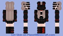 Techo Bunny Mask Minecraft Skin