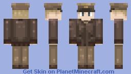 ✪ USAAF Pilot (A-2 Leather Jacket)✪ Minecraft Skin