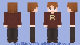 she's made you a weasley sweater Minecraft Skin