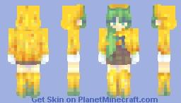 .Rain water. Minecraft Skin