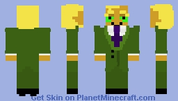Freaky Fred [Courage the Cowardly Dog] Minecraft Skin