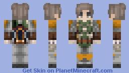 Young Boba Fett Minecraft Skin