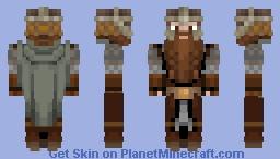 Gimli / LOTR Character Minecraft Skin