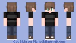 Cassidy Afton (Crying Child) (FNAF 4 - ????) Minecraft Skin