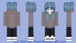 Rainy Spring Colors Minecraft Skin
