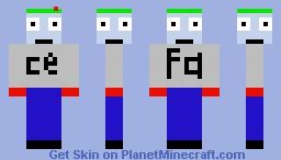 FACE Minecraft Skin