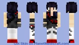 Mirrors Edge: Faith Connors Minecraft Skin