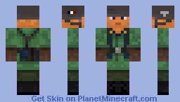WW2 Fallschirmjager (WW2 German Paratrooper) Minecraft