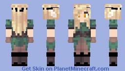 Fall she-elf Skin Minecraft Skin