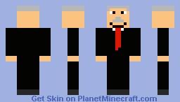 famous oldman Minecraft Skin