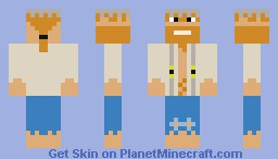poor farmer/dwarf/knight? Minecraft Skin