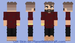 Hey handsome, where you're goin'? Minecraft Skin