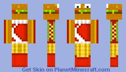 Fast Food Minecraft Skin