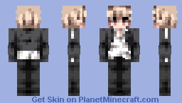 Fate Stay Night | Gilgamesh (Casual) Minecraft Skin