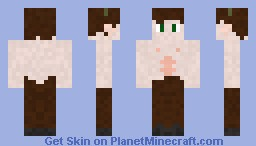 Faun (or Satyr) Minecraft Skin