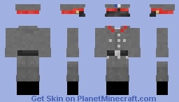 Archishe Heer - Alt-Hist Colonial German Prison Guard - Service Uniform Minecraft Skin