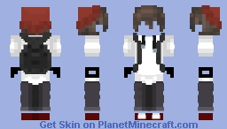 Ghost Dude Minecraft Skin