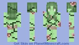 The Garden - Plant Folk Minecraft Skin