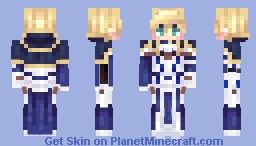 [Kari] F/GO - Arthur Pendragon Minecraft Skin