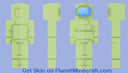 Lime {Among Us} Minecraft Skin