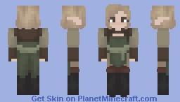 The Orator's Dany Lavellan Minecraft Skin