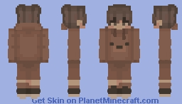 Bear Onesie Aesthetic Boy Minecraft Skin